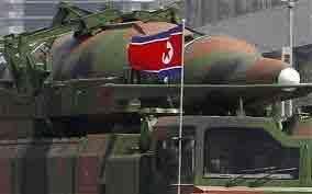 کره شمالی موشک