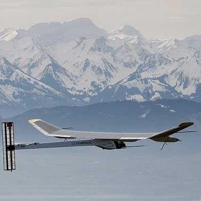 پرواز کاملا خورشیدی به دور آمریکا