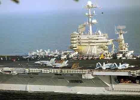 مانور دریایی آمریکا و 30 کشور دیگر در خلیجفارس