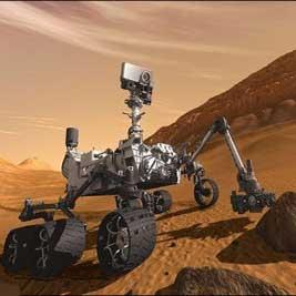 مقارنه خورشیدی مریخ و تنهایی یک ماهه کنجکاوی