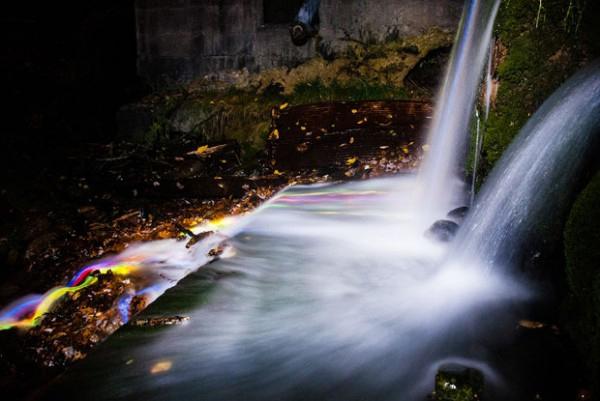 neon waterfall4