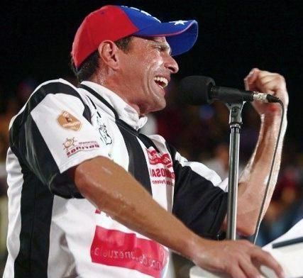 انریکه کاپریلس نامزد جناح مخالف ونزوئلا