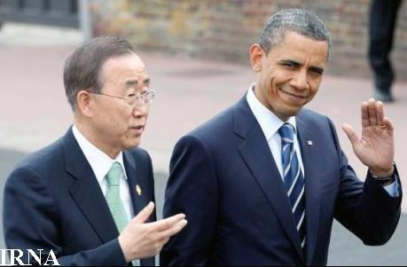بانکیمون برای دیدار با اوباما به کاخ سفید میرود
