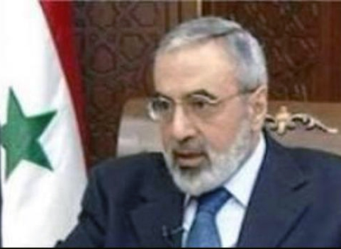 عمران الزعبی وزیراطلاع رسانی سوریه