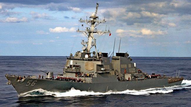 امریکا دو ناوشکن به شبهجزیره کره اعزام کرد