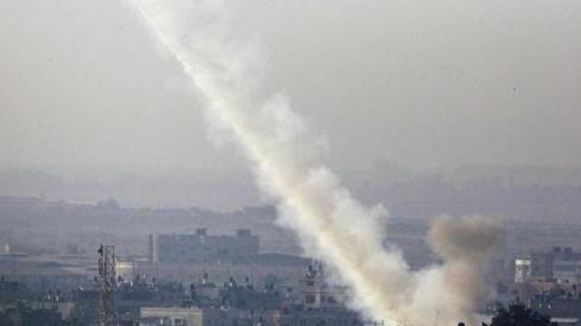 تلآویو از پرتاب موشک از غزه خبر داد