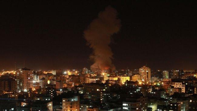 جنگندههای اسرائیلی غزه را هدف حملات خود قرار دادند