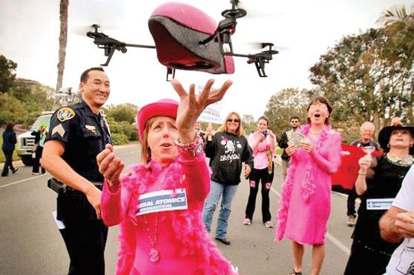 اعتراض آمریکاییها علیه پهپادها