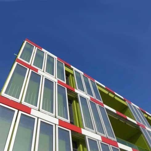 افتتاح نخستین ساختمان زیستی جهان با انرژی جلبکی