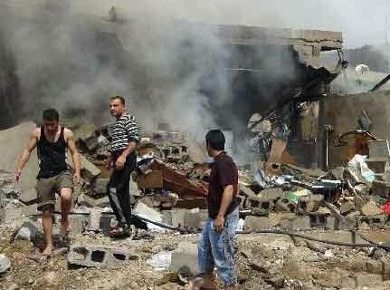 انفجار بازار شعبیه در بابل عراق