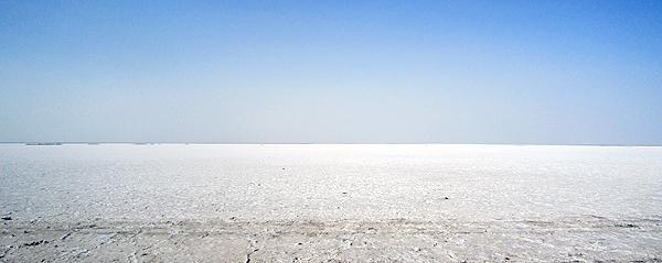 تصاویری از نمکزارهای کویر مرکزی ایران در شهرستان خور و بیابانک