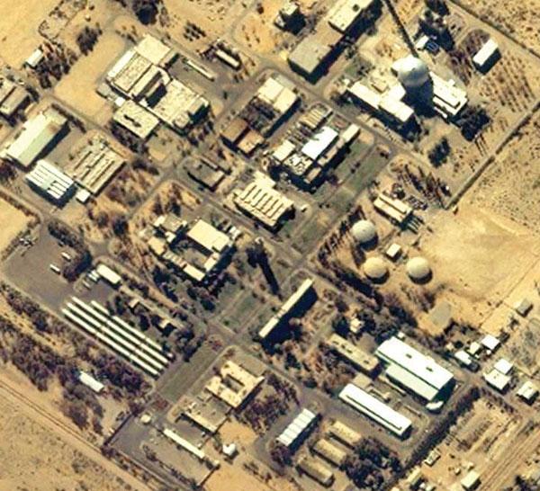 ابراز نگرانی از امنیت نیروگاه دیمونا