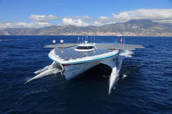 بازگشت بزرگترین قایق خورشیدی جهان به قلب اقیانوس