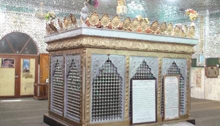 مقبره حجربن عدی قبل از حمله تروریست ها