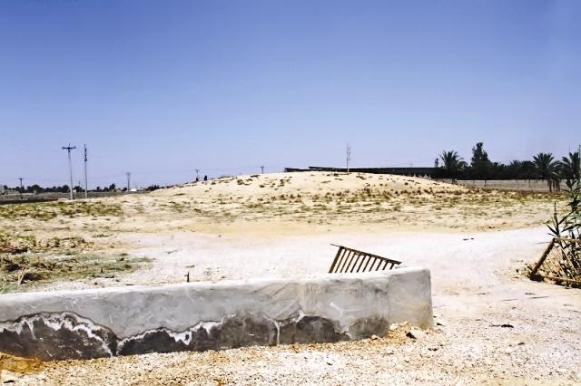 تپه باستانی حسنک در معرض نابودیکامل است