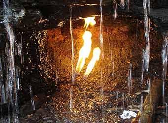 سوخت مرموز یک شعله دائمی