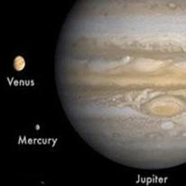 مقارنه سهگانه درخشانترین سیارات در آسمان فردا