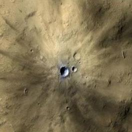 سالانه بیش از 200 برخورد سیارکی بر سطح مریخ