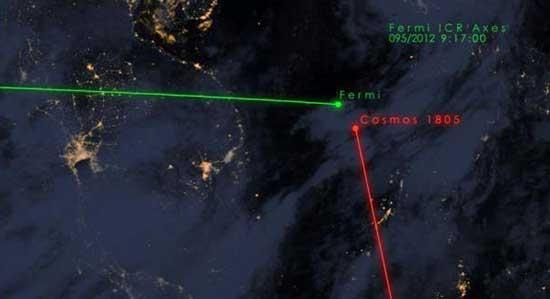 احتمال برخورد تلسکوپ فضایی ناسا با زباله فضایی روسیه