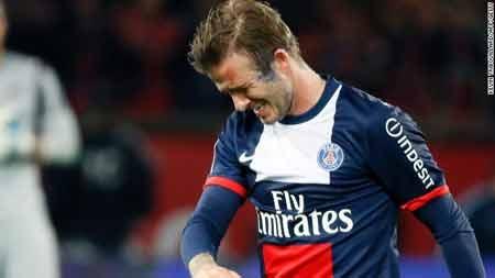 تصاویر خداحافظی دیوید بکهام از جهان فوتبال