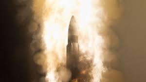 آمریکا یک موشک بالستیک آزمایش کرد