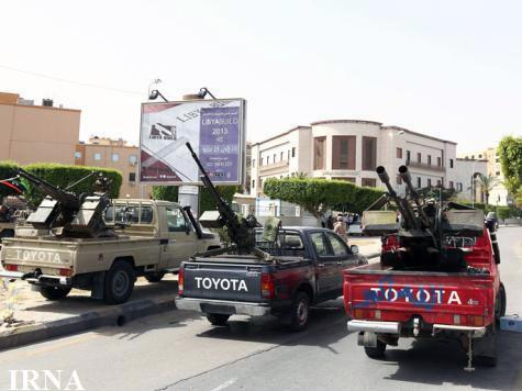 افراد مسلح ساختمان دادگستری لیبی را محاصره کردند