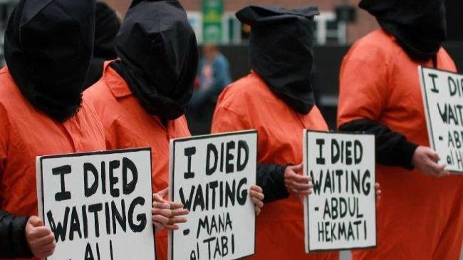 تظاهرات جدید فعالان امریکایی علیه زندان گوانتانامو