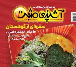مجله آشپزی مثبت منتشر شد