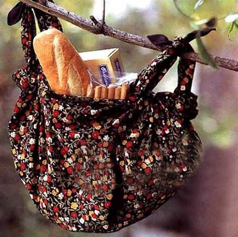 چطور با پارچه کیف درست کنیم؟ -2