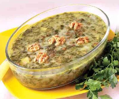 آشنایی با روش تهیه بیشت واش - غذای محلی شهرستان کندلوس