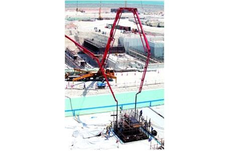 آغاز ساخت دومین نیروگاه اتمی امارات