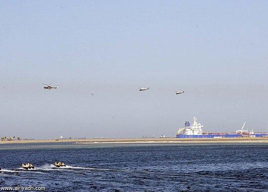 saudi-egypt  naval exercise