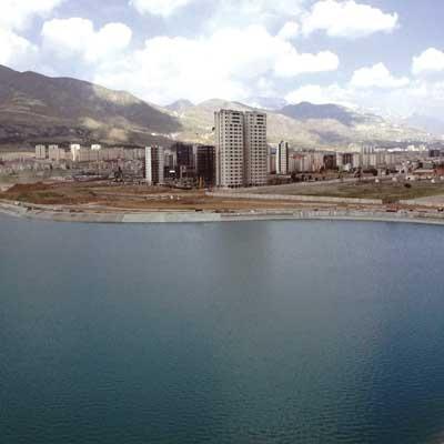 تولد یک دریاچه در شهر