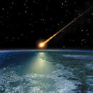 یک شهابسنگ قمردار از نزدیکی زمین عبور کرد