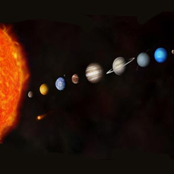 صف کشیدن سیارات منظومه شمسی