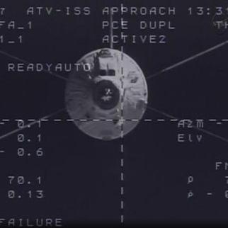 کپسول باری اروپا با موفقیت به ایستگاه فضایی ملحق شد