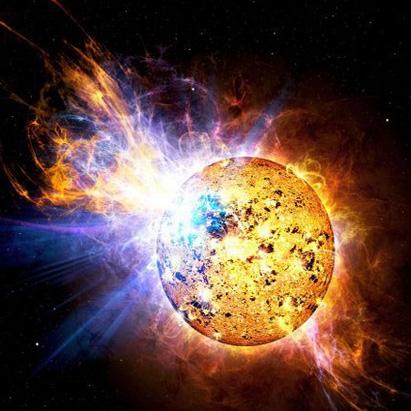 جرقه ستارهای در کمتر از سه دقیقه 15 برابر شفافتر شد