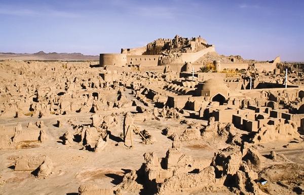 بم - آثار باستانی