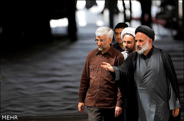 تصاویر ؛ حضور کاندیداهای انتخابات در مراسم سالگرد ارتحال امام