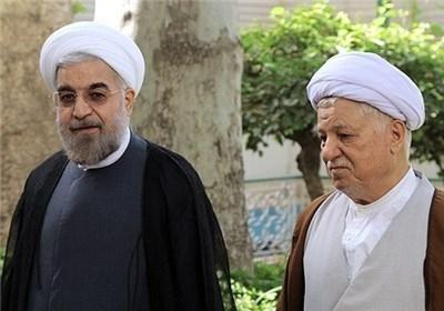 دیدار رئیس مجمع تشخیص مصلحت نظام با رئیس جمهور منتخب