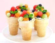 میوه به جای بستنی