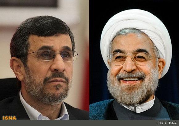 احمدینژاد با حسن روحانی دیدار کرد