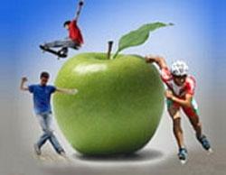 تغذیهی مناسب برای ورزشکاران کوچک