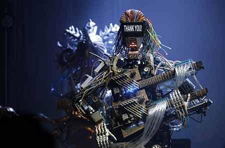کنسرت روباتها