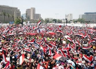 تجمع مصریها در التحریر