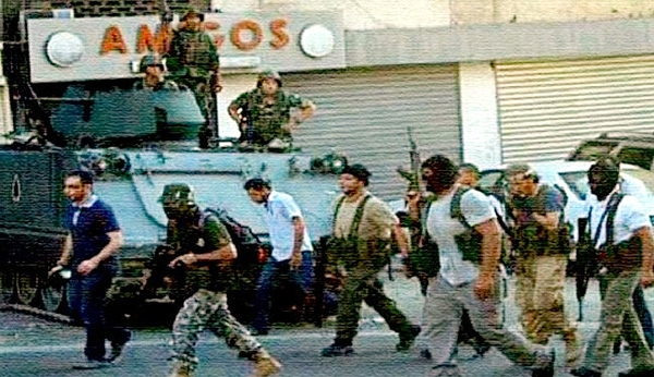 انتشار عکسی از عناصر مسلح و نیروهای ارتش لبنان، جنجالی را در رسانه ای این کشور به راه انداخته است.