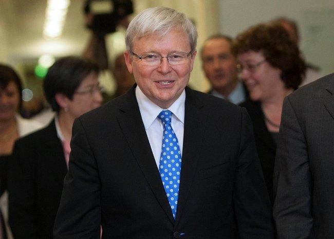 کوین راد به عنوان نخستوزیر جدید استرالیا انتخاب شد