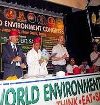 همایش محیط زیست دردهلی نو