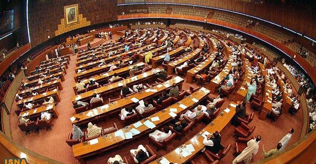 مجلس جدید پاکستان آغاز به کار کرد