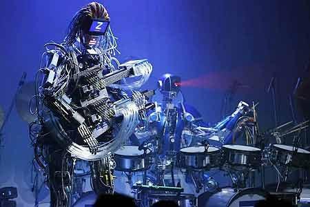 کنسرت روباتها در ژاپن